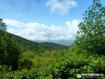 Castañar de El Tiemblo; fin de semana; viajes senderismo verano;botas trekking madrid